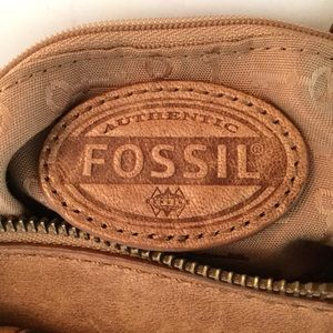 Fossil Bags - FOSSIL SADDLE LAMB SKIN CROSSBODY